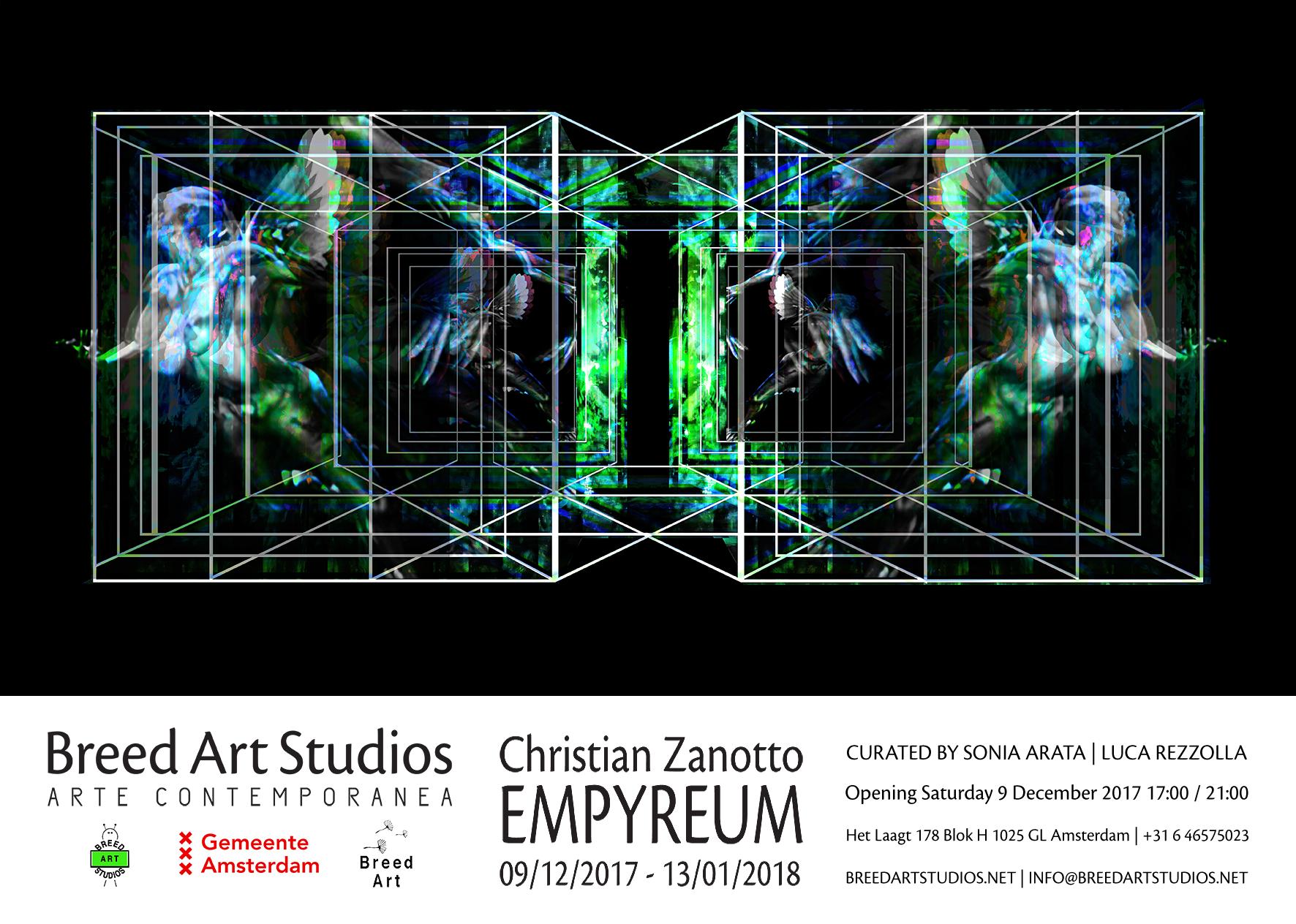 Opening Tentoonstelling: Christian Zanotto 'EMPYREUM'