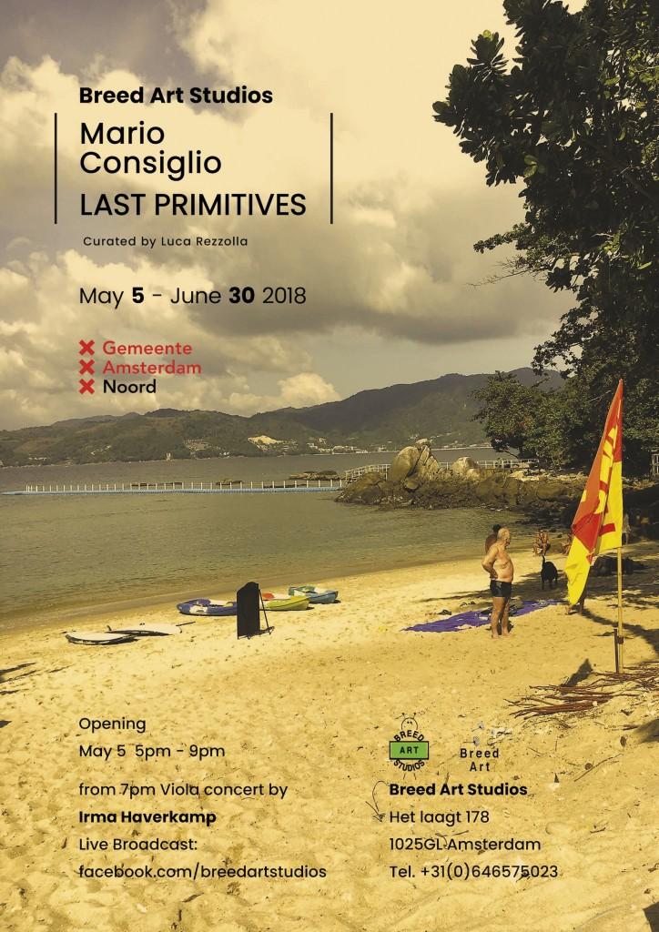 Expositie MARIO CONSIGLIO (IT) Last Primitives