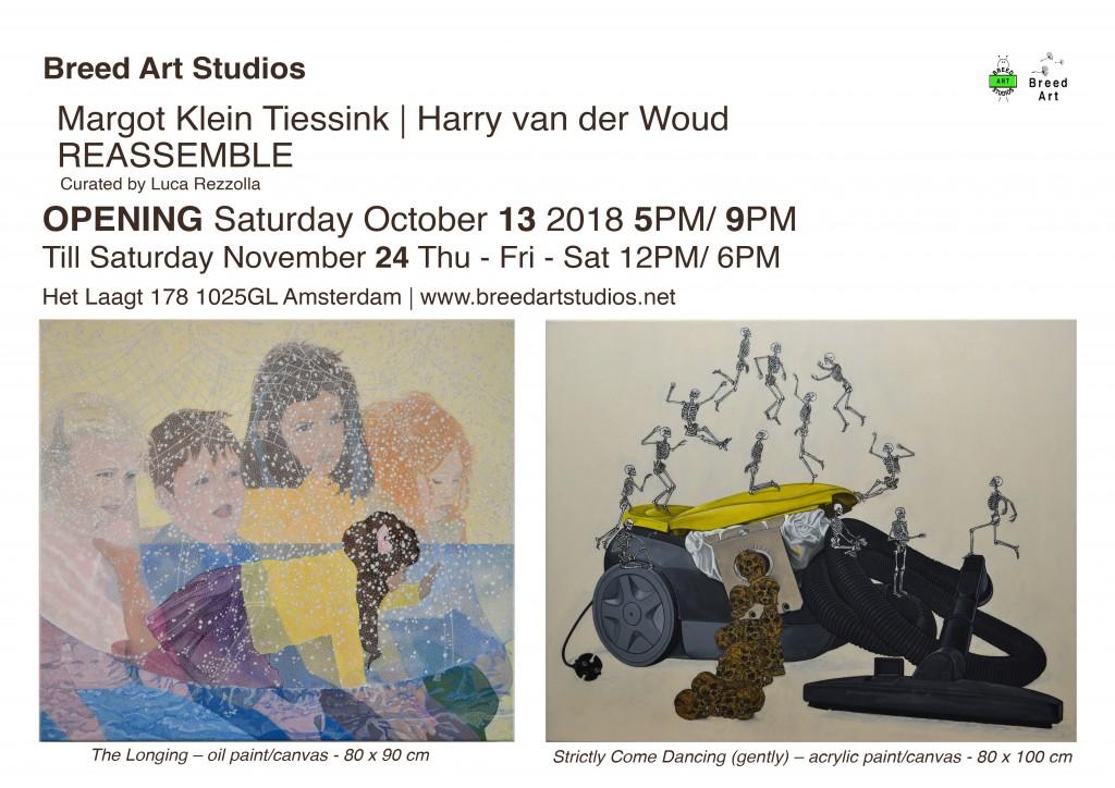 Opening Margot Klein Tiessink | Harry van der Woud REASSEMBLE