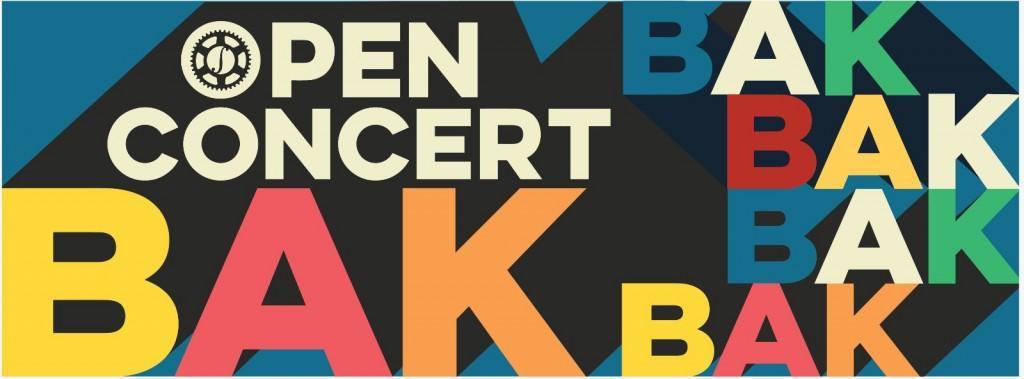 Open Concertbak