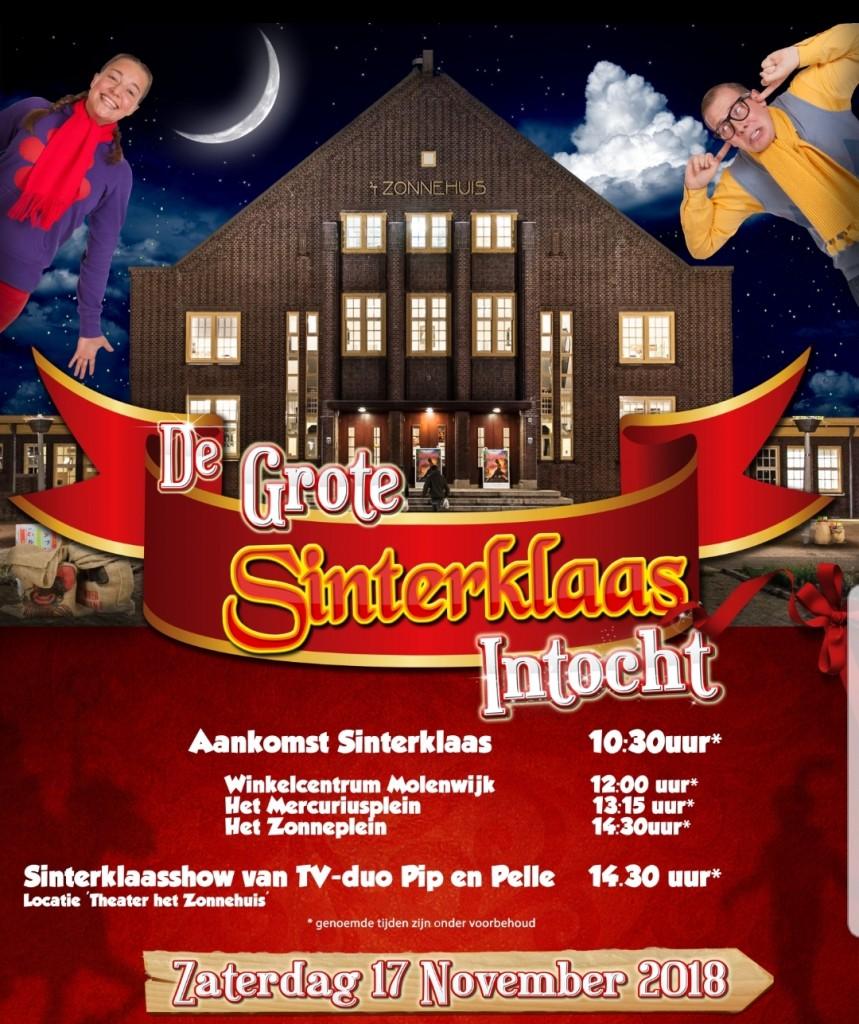 Sinterklaasintocht Amsterdam Noord