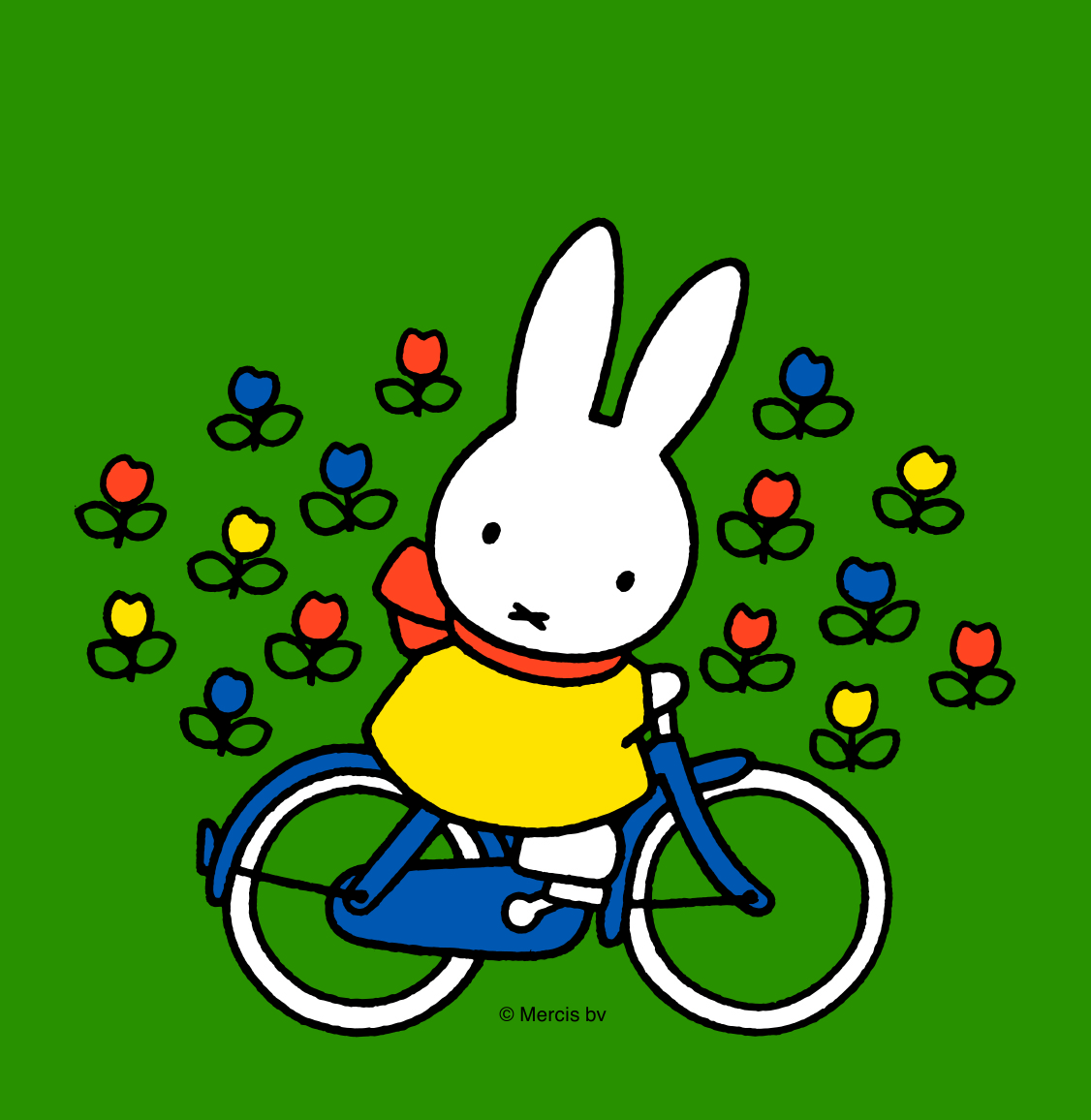 Marianne van Houten speelt Nijntje op de fiets (2+)