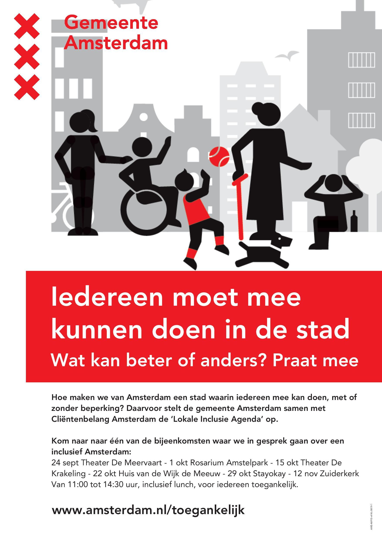 Amsterdam Toegankelijker Voor Iedereen