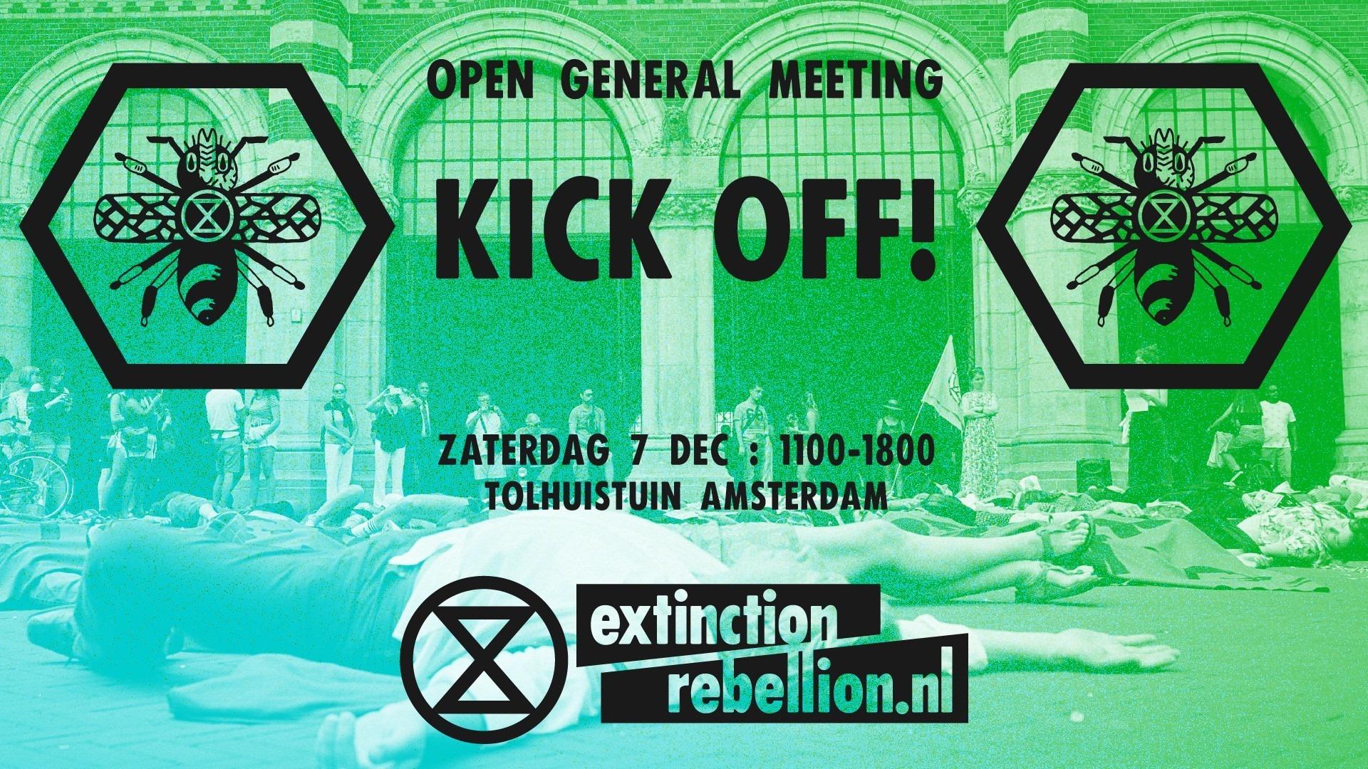 Extinction Rebellion Meeting – Tolhuistuin