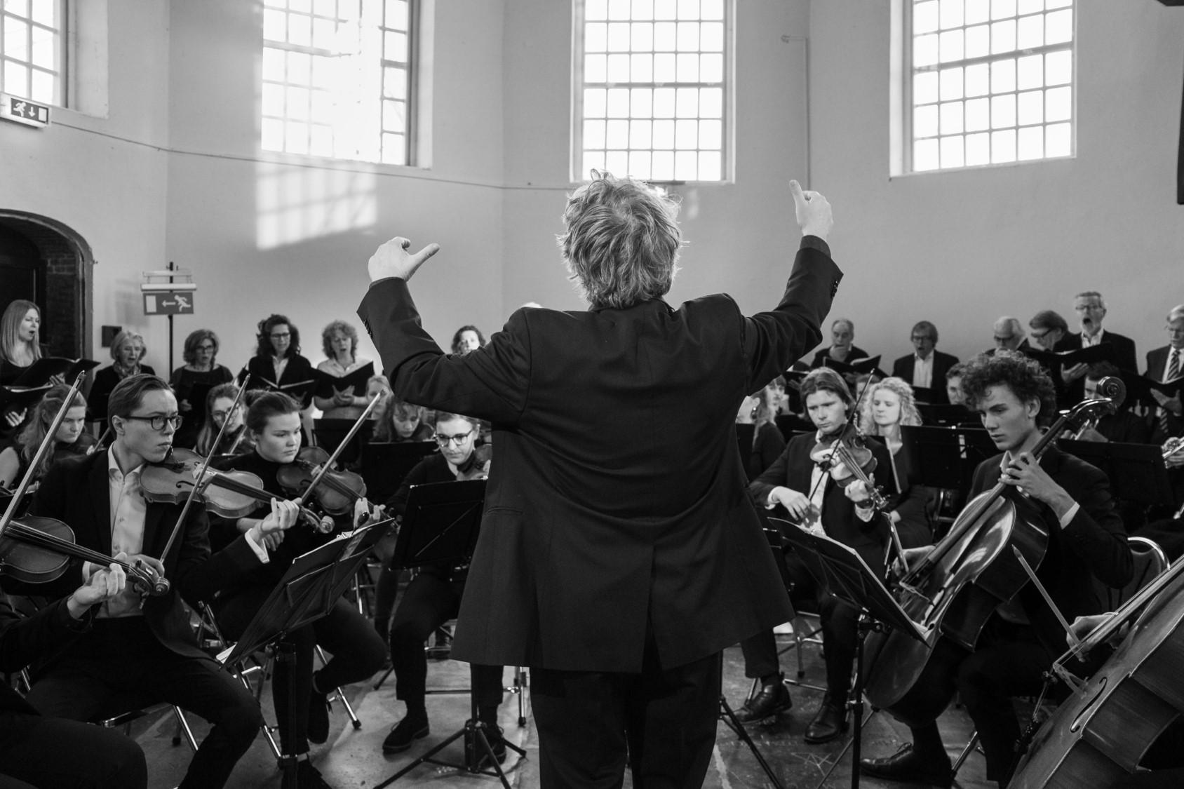 Amsterdams Studenten Orkest speelt oud en nieuw