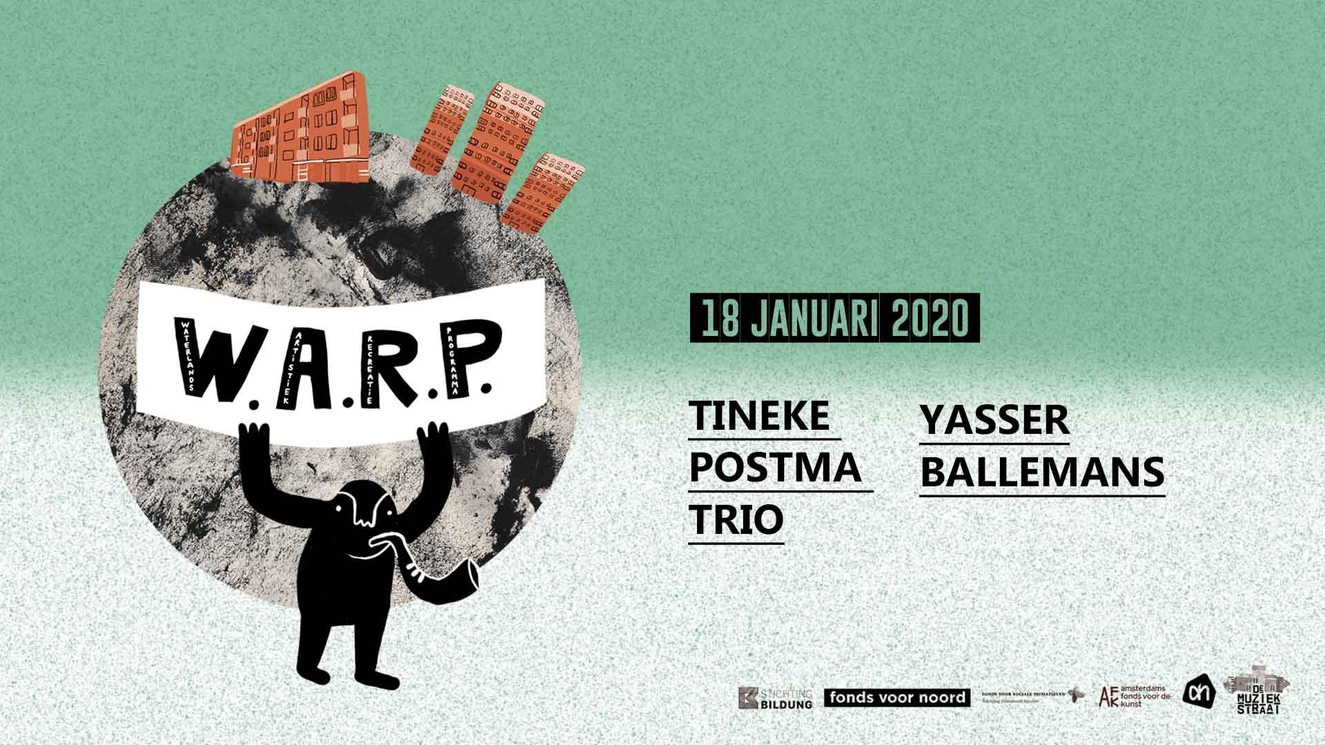 W.A.R.P //Waterlands Artistiek Recreatie Programma // met o.a. Tineke Postma