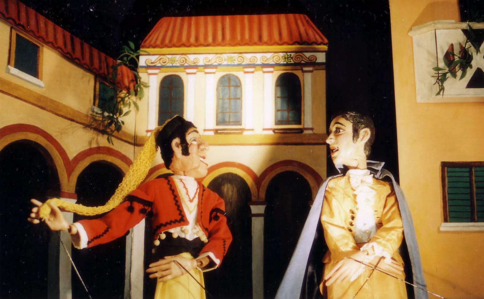 Het Nederlands Marionettentheater: De barbier van Sevilla