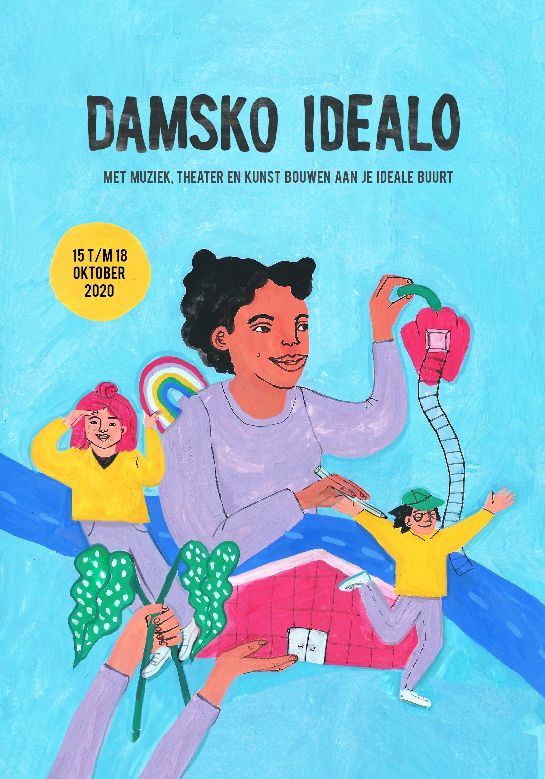 Damsko Idealo: creatief kunstkamp voor kinderen.